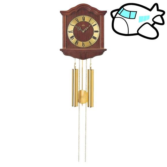 AMS 掛け時計 機械式 振り子時計 アナログ アンティーク ドイツ製 AMS206-1 納期1ヶ月程度 (YM-AMS206-1)