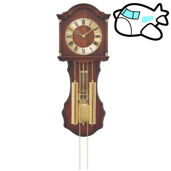 AMS 掛け時計 機械式 振り子時計 アナログ アンティーク ドイツ製 AMS211-1 納期1ヶ月程度 (YM-AMS211-1)