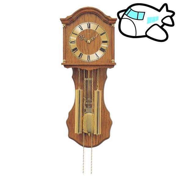 AMS 掛け時計 機械式 振り子時計 アナログ アンティーク ドイツ製 AMS211-4 納期1ヶ月程度 (YM-AMS211-4)