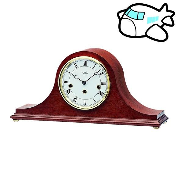 【ポイントアップ中&割引クーポン配布中】AMS 置き時計 置時計 機械式置き時計 アナログ アンティーク ドイツ製 AMS2193-8 納期1ヶ月程度 (YM-AMS2193-8)
