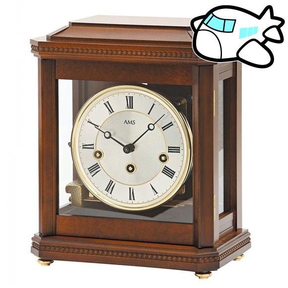 AMS 置き時計 置時計 アナログ 機械式 ドイツ製 AMS2196-1 納期1ヶ月程度 (YM-AMS2196-1)