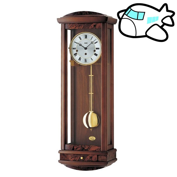 AMS 掛け時計 振り子時計 アナログ アンティーク ドイツ製 AMS2607-1 納期1ヶ月程度 (YM-AMS2607-1)