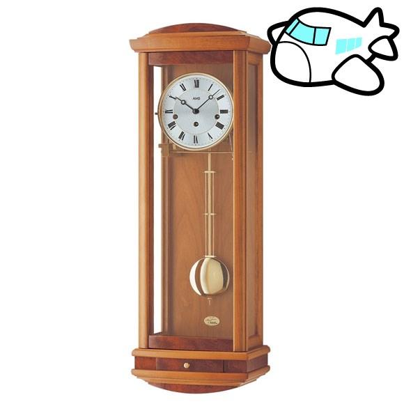AMS 掛け時計 振り子時計 アナログ アンティーク ドイツ製 AMS2607-9 納期1ヶ月程度 (YM-AMS2607-9)