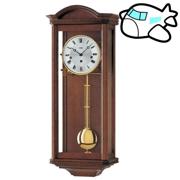 AMS 掛け時計 振り子時計 アナログ アンティーク ドイツ製 AMS2663-1 納期1ヶ月程度 (YM-AMS2663-1)