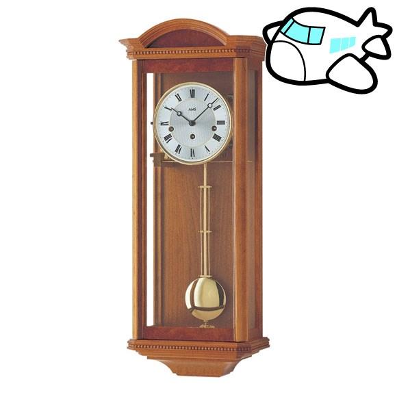 AMS 掛け時計 振り子時計 アナログ アンティーク ドイツ製 AMS2663-9 納期1ヶ月程度 (YM-AMS2663-9)