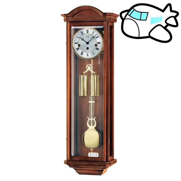 AMS 掛け時計 振り子時計 機械式振り子時計 アナログ アンティーク ドイツ製 AMS2672-1 納期1ヶ月程度 (YM-AMS2672-1)