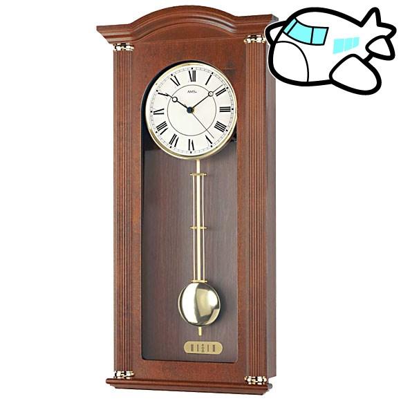 AMS 掛け時計 振り子時計 アナログ アンティーク ドイツ製 AMS5014-1 納期1ヶ月程度 (YM-AMS5014-1)
