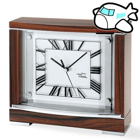 【ポイントアップ中&割引クーポン配布中】AMS 置き時計 置時計 アナログ おしゃれ ドイツ製 AMS5110 納期1ヶ月程度 (YM-AMS5110)