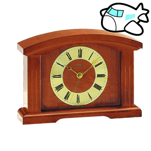 AMS 置き時計 置時計 アナログ アンティーク ドイツ製 AMS5138-9 納期1ヶ月程度 (YM-AMS5138-9)