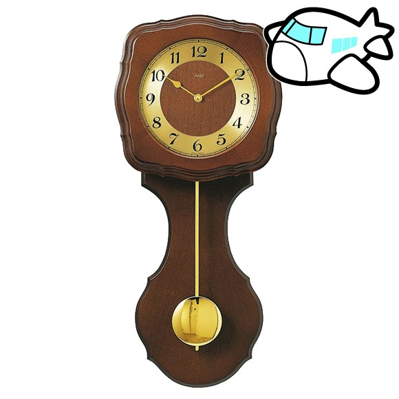 AMS 掛け時計 振り子時計 アナログ アンティーク ドイツ製 AMS5162-1 納期1ヶ月程度 (YM-AMS5162-1)