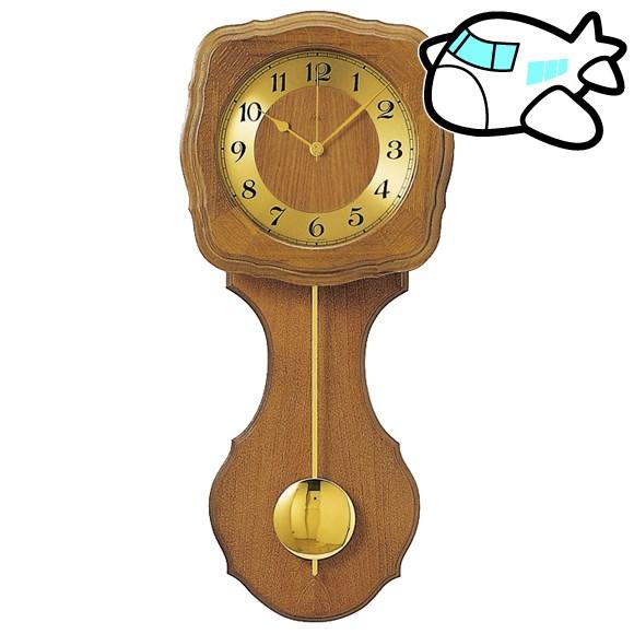 AMS 掛け時計 振り子時計 アナログ アンティーク ドイツ製 AMS5162-4 納期1ヶ月程度 (YM-AMS5162-4)