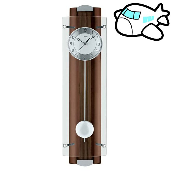 AMS 掛け時計 振り子時計 アナログ おしゃれ ドイツ製 AMS5259-1 納期1ヶ月程度 (YM-AMS5259-1)