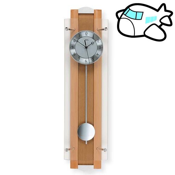AMS 掛け時計 振り子時計 アナログ おしゃれ ドイツ製 AMS5259-18 納期1ヶ月程度 (YM-AMS5259-18)