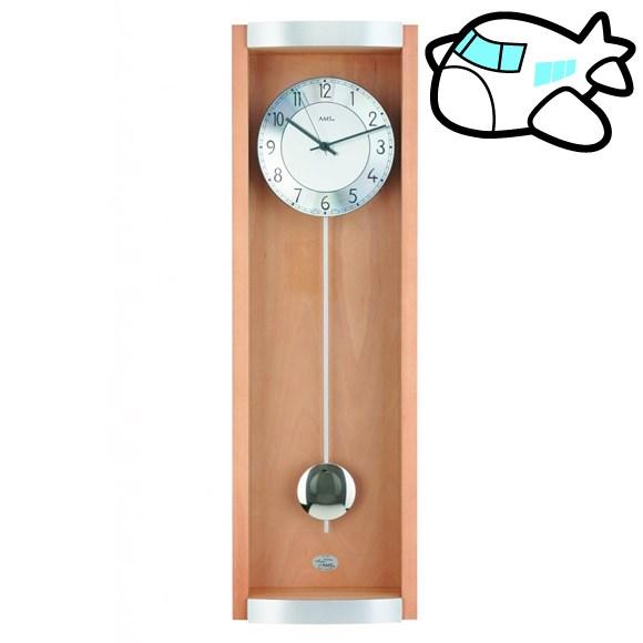 AMS 掛け時計 振り子時計 アナログ アンティーク ドイツ製 AMS5285-18 納期1ヶ月程度 (YM-AMS5285-18)