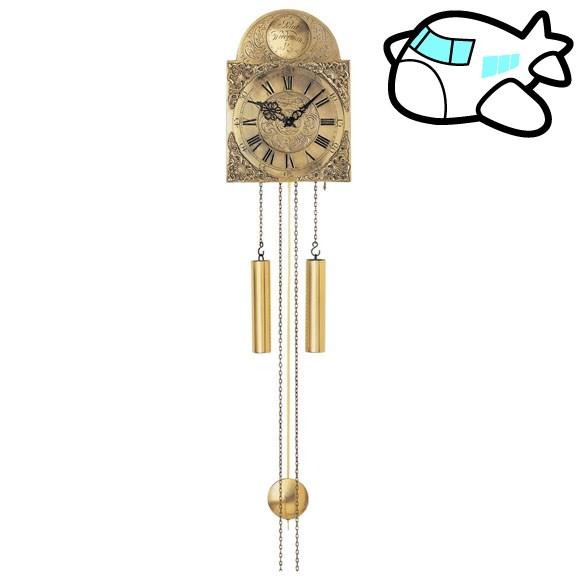 【ポイントアップ中&割引クーポン配布中】AMS 掛け時計 機械式 アナログ ゴールド ドイツ製 AMS539 納期1ヶ月程度 (YM-AMS539)