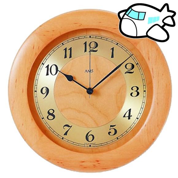 AMS 掛け時計 アナログ おしゃれ ドイツ製 AMS5809-16 納期1ヶ月程度 (YM-AMS5809-16)
