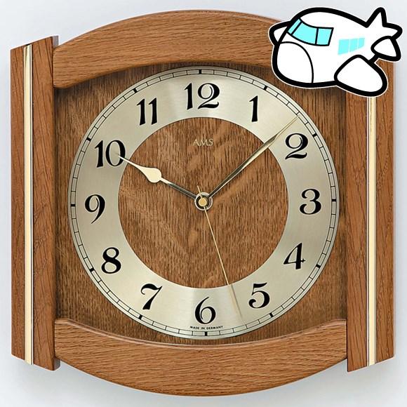 【ポイントアップ中&割引クーポン配布中】AMS 掛け時計 アナログ おしゃれ ドイツ製 AMS5822-4 納期1ヶ月程度 (YM-AMS5822-4)