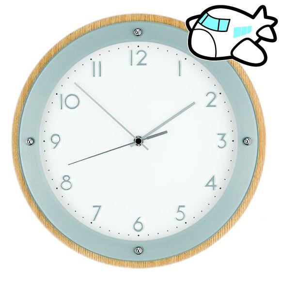 AMS 掛け時計 アナログ おしゃれ ドイツ製 AMS5846 納期1ヶ月程度 (YM-AMS5846)
