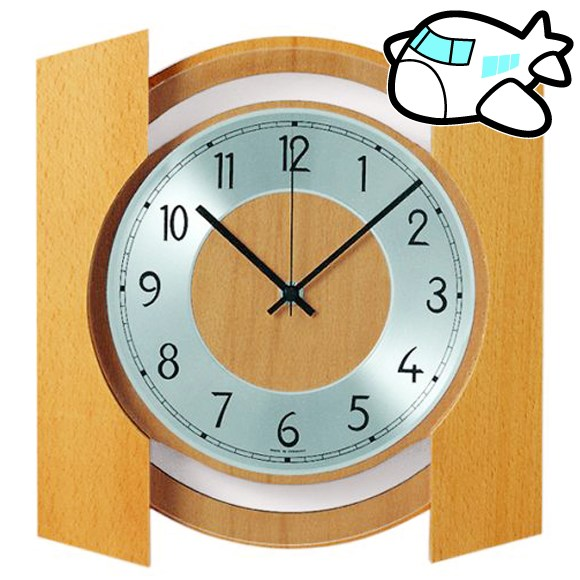 AMS 掛け時計 アナログ おしゃれ ドイツ製 AMS5869-18 30%OFF 納期1~2ヶ月 (YM-AMS5869-18)