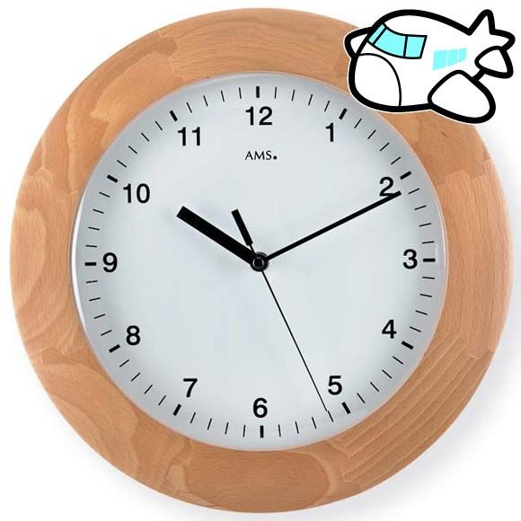 AMS 掛け時計 おしゃれ ドイツ製 AMS5904-18 納期1ヶ月程度 (YM-AMS5904-18)