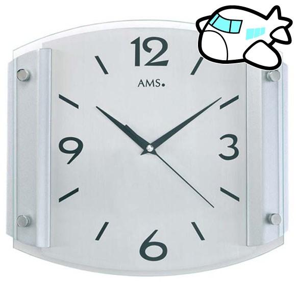 AMS 掛け時計 アナログ おしゃれ ドイツ製 AMS5938 納期1ヶ月程度 (YM-AMS5938)