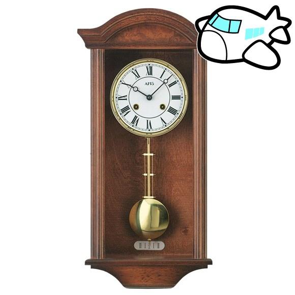 AMS 掛け時計 振り子時計 アナログ おしゃれ 機械式 ドイツ製 AMS614-1 納期1ヶ月程度 (YM-AMS614-1)