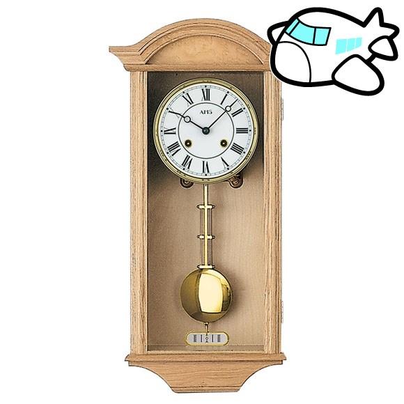 AMS 掛け時計 振り子時計 機械式振り子時計 アナログ おしゃれ ドイツ製 AMS614-5 納期1ヶ月程度 (YM-AMS614-5)