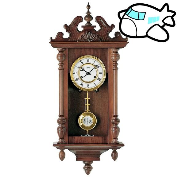 AMS 掛け時計 振り子時計 機械式振り子時計 アナログ おしゃれ ドイツ製 AMS617-1 30%OFF 納期1~2ヶ月 (YM-AMS617-1)