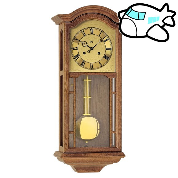 【ポイントアップ中&割引クーポン配布中】AMS 掛け時計 機械式 振り子時計 アンティーク ドイツ製 AMS650-4 納期1ヶ月程度 (YM-AMS650-4)