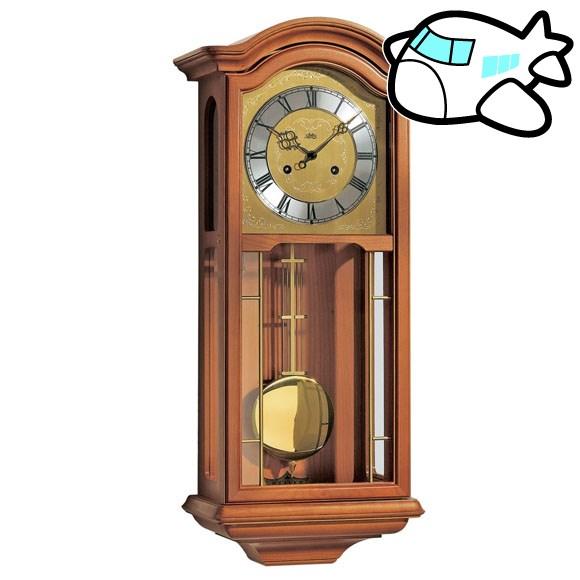 AMS 掛け時計 機械式 振り子時計 アンティーク ドイツ製 AMS651-9 納期1ヶ月程度 (YM-AMS651-9)