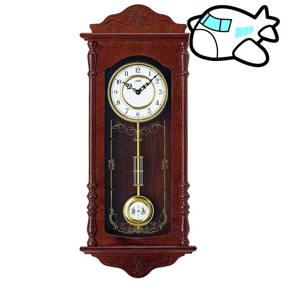 AMS 掛け時計 振り子時計 アンティーク ドイツ製 AMS7013-1 納期1ヶ月程度 (YM-AMS7013-1)