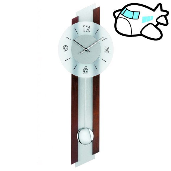 AMS 掛け時計 振り子時計 アナログ ドイツ製 AMS7207-1 納期1ヶ月程度 (YM-AMS7207-1)