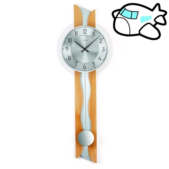 AMS 掛け時計 振り子時計 アナログ ドイツ製 AMS7216-18 30%OFF 納期1~2ヶ月 (YM-AMS7216-18)