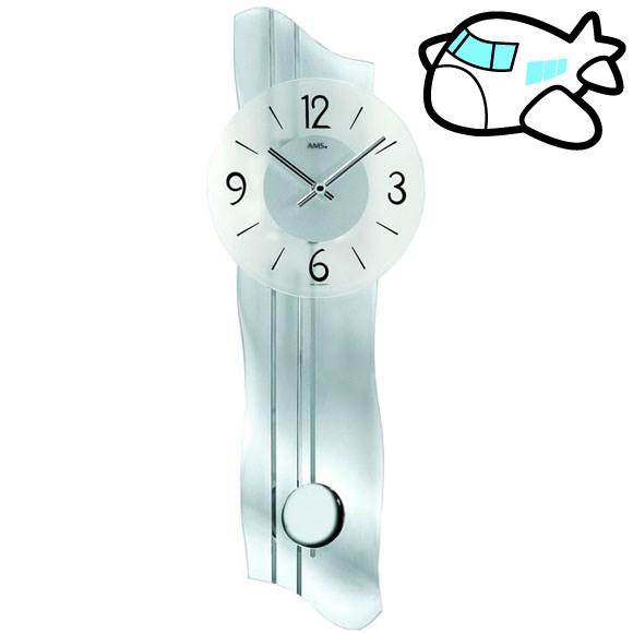 AMS 掛け時計 振り子時計 アナログ おしゃれ ドイツ製 AMS7239 納期1ヶ月程度 (YM-AMS7239)
