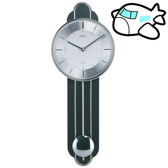 AMS 掛け時計 振り子時計 アナログ ゴールド ドイツ製 AMS7317 納期1ヶ月程度 (YM-AMS7317)