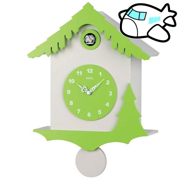 AMS 掛け時計 振り子時計 鳩時計 ハト ドイツ製 AMS7389 納期1ヶ月程度 (YM-AMS7389)