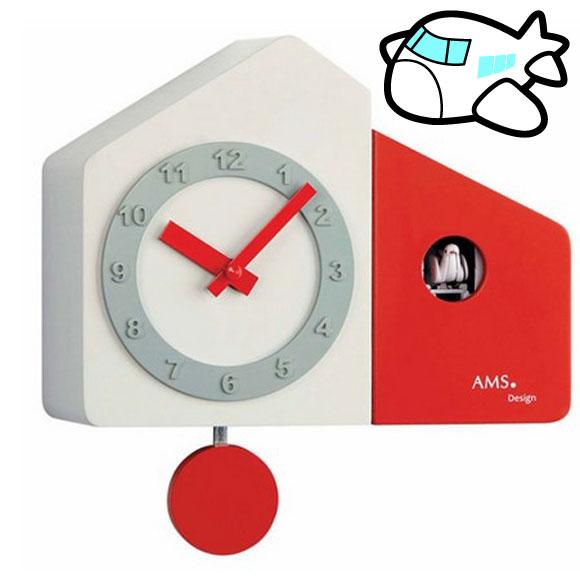 AMS 掛け時計 振り子時計 鳩時計 ハト ドイツ製 AMS7396 納期1ヶ月程度 (YM-AMS7396)