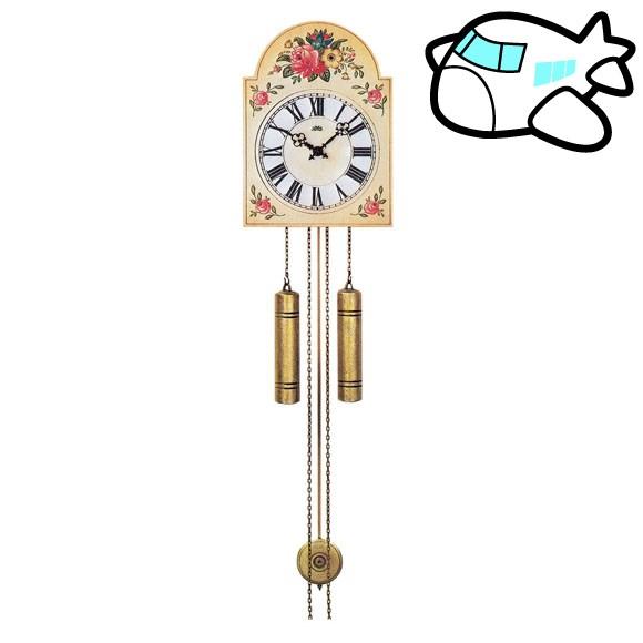 AMS 掛け時計 機械式 振り子時計 アンティーク ドイツ製 AMS835 30%OFF 納期1~2ヶ月 (YM-AMS835)