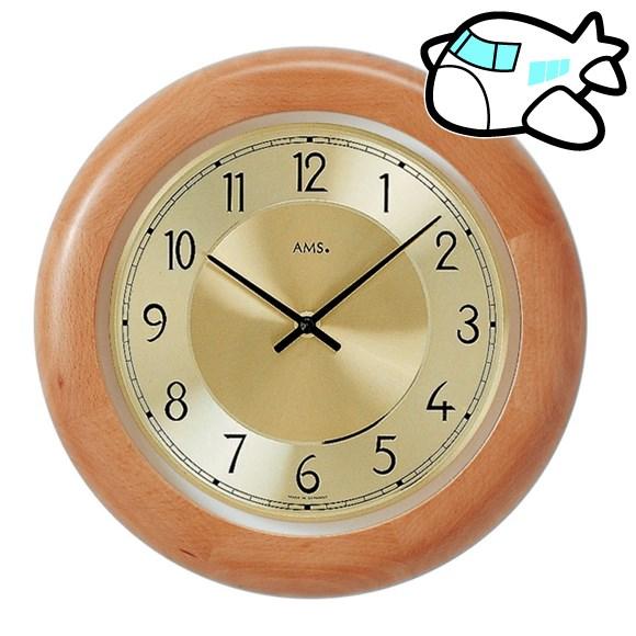 【ポイントアップ中&割引クーポン配布中】AMS 掛け時計 アナログ おしゃれ ドイツ製 AMS9063-18 納期1ヶ月程度 (YM-AMS9063-18)