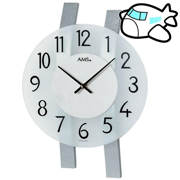 AMS 掛け時計 アナログ おしゃれ ドイツ製 AMS9202 納期1ヶ月程度 (YM-AMS9202)
