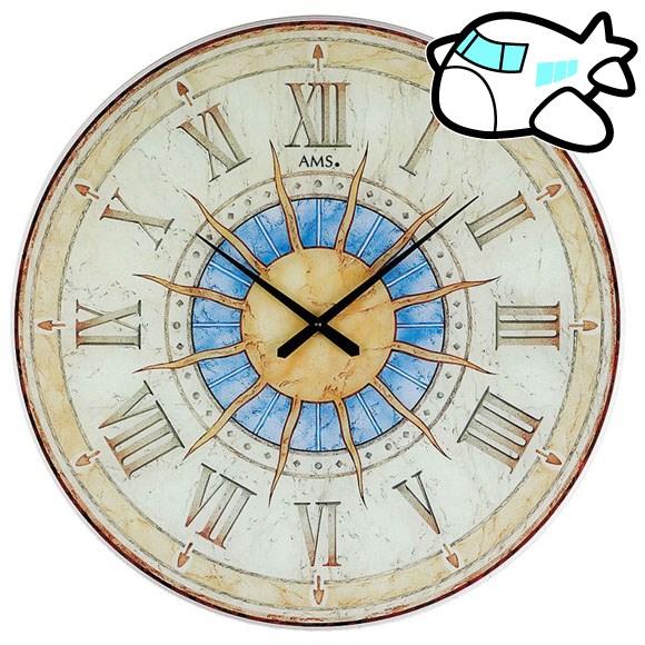 AMS 掛け時計 アナログ おしゃれ アンティーク ドイツ製 AMS9230 納期1ヶ月程度 (YM-AMS9230)
