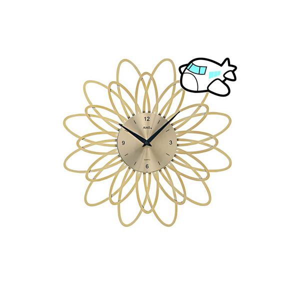 【ポイントアップ中&割引クーポン配布中】AMS 掛け時計 アナログ おしゃれ ゴールド ドイツ製 AMS9361 納期1ヶ月程度 (YM-AMS9361)
