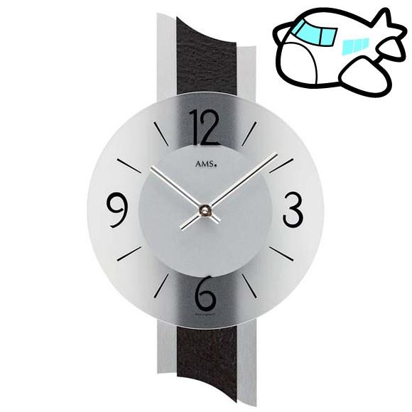 AMS 掛け時計 アナログ おしゃれ ドイツ製 AMS9395 納期1ヶ月程度 (YM-AMS9395)