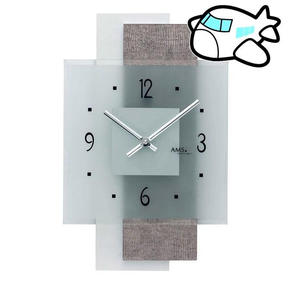 AMS 掛け時計 アナログ おしゃれ ドイツ製 AMS9442 納期1ヶ月程度 (YM-AMS9442)