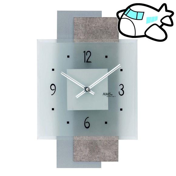 本物の AMS アナログ 掛け時計 アナログ (YM-AMS9443) おしゃれ ドイツ製 AMS9443 AMS 納期3~4週間 (YM-AMS9443), ニイカップチョウ:44ab23b9 --- rki5.xyz
