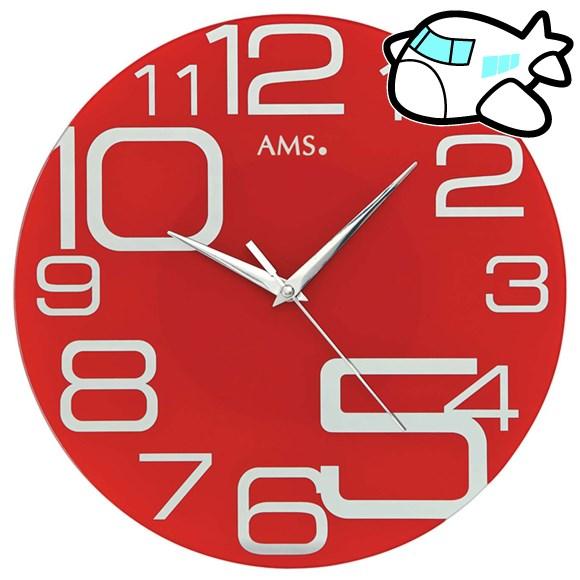 AMS 掛け時計 アナログ おしゃれ ドイツ製 AMS9462 納期1ヶ月程度 (YM-AMS9462)