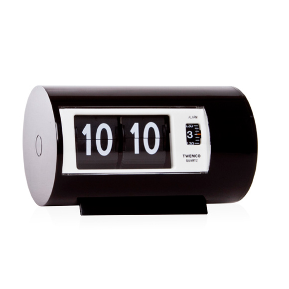TWEMCO トゥエンコ 目覚まし時計 置き時計 パタパタ時計 ロータリークロック (OP-AP-28)