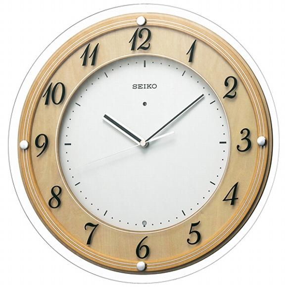 セイコー(SEIKO) 掛け時計 壁掛け 電波時計 KX321A アナログ スイープ おしゃれ