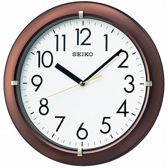 セイコー(SEIKO) 掛け時計 壁掛け KX621B アナログ ステップ おしゃれ
