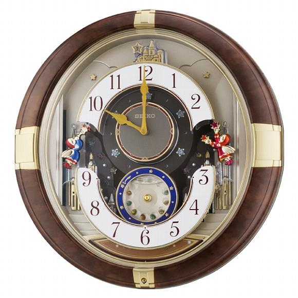 【ポイントアップ中&割引クーポン配布中】セイコー(SEIKO) からくり時計 壁掛け RE816B メロディ 掛け時計 アナログ おしゃれ